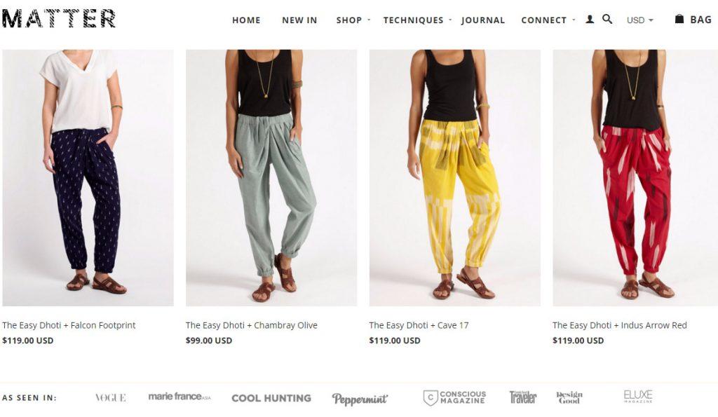 harem pants matter prints