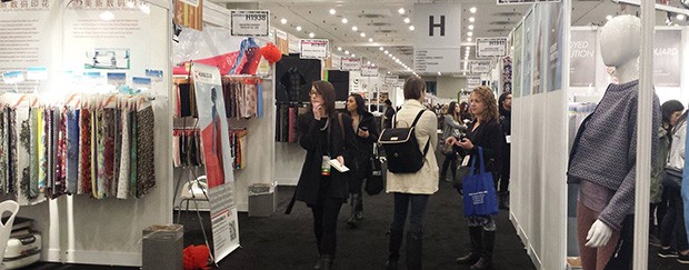 Texworld USA Fashion trade show
