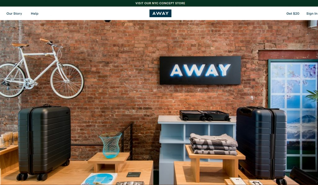 Aways pop up shop nyc