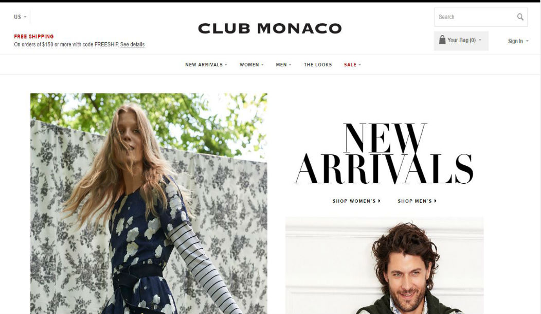 Retail Report: Club Monaco Flagship