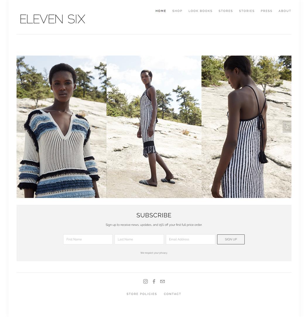 fashion brand eleven six