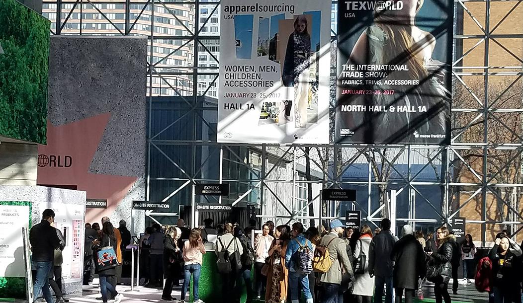 Texworld USA Fashion event