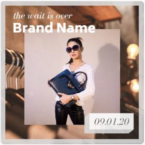 Canva Instagram Template Fashion 1