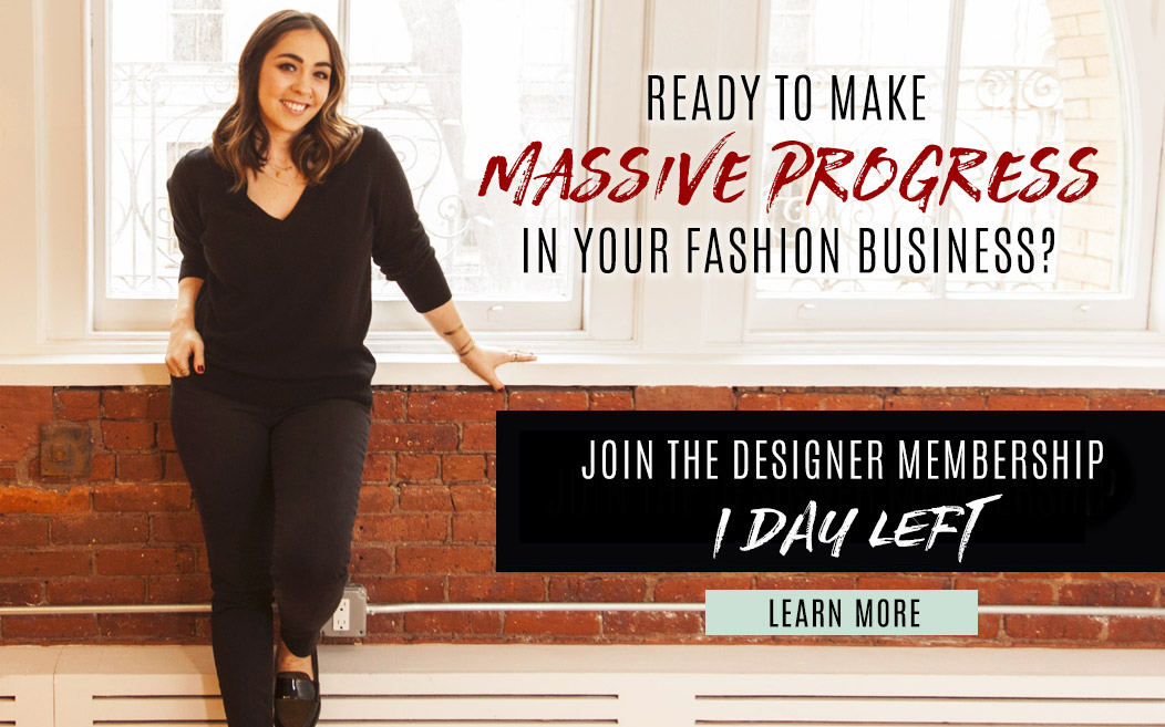 Designer Membership Open - 1 day left